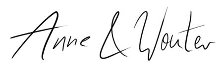 Unterschrift (Pseudo) Anne und Wouter Faupel